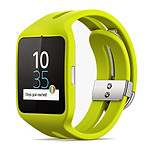 Sony Mobile Montre connectée SmartWatch 3 - (sport jaune)