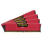 Corsair Vengeance LPX Red DDR4 4 x 4 Go 3000 MHz CAS 15