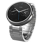 Motorola Montre connectée Moto 360 (metal gris)