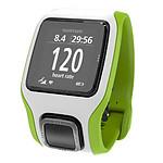 TomTom Montre GPS Multi-Sport Cardio (vert/blanc)