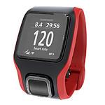 TomTom Montre GPS Multi-Sport Cardio (rouge/noir)