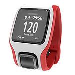 TomTom Montre GPS Multi-Sport Cardio (rouge/blanc)