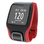 TomTom Montre GPS Runner Cardio (rouge/noir)