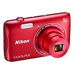 Nikon Coolpix S3700 Rouge