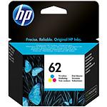 HP Cartouche d'encre n°62 (C2P06AE) - 3 Couleurs
