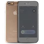 Puro Folio booklet case (transparent)- iPhone 6/6s Plus