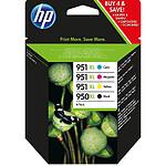 HP Combo Pack n°950XL/951XL (C2P43AE) - Cartouche