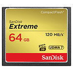 Sandisk Extreme CompactFlash 64 Go (120 Mo/s)