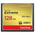 Sandisk Extreme CompactFlash 128 Go (120 Mo/s)