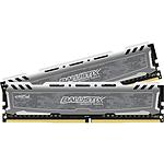Ballistix Sport LT DDR4 2 x 4 Go 2400 MHz CAS 16 SR