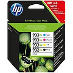 HP Combo Pack N°932XL/933XL (C2P42AE) - Cartouche
