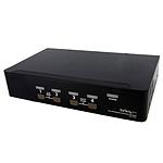 StarTech.com Commutateur KVM DisplayPort USB 4ports avec audio