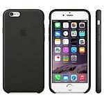 Apple Coque Leather Case iPhone 6 - noir