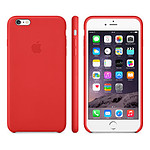 Apple Coque Leather Case iPhone 6 - rouge