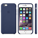 Apple Coque Leather Case iPhone 6 - bleu