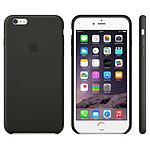 Apple Coque Leather Case iPhone 6 Plus - noir