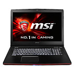 MSI GE72 2QC-232FR - i7- 8 Go - 1 To - GTX 960M