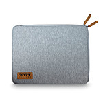 Port Skin Torino pour PC Portable 13/14'' gris