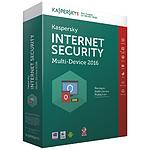 Kaspersky Lab Internet Security Multi-Device 2016 1 poste / 1 an