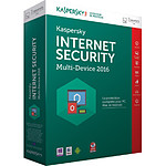 Kaspersky Lab Internet Security Multi-Device 2016 3 postes 1 an