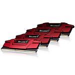 G.Skill Ripjaws V Red DDR4 4 x 8 Go 3000 MHz CAS 15