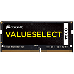 Corsair ValueSelect SO-DIMM - 1 x 16 Go - DDR4 2666 MHz - CL18