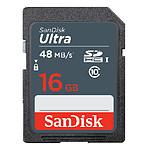 Sandisk Ultra SDHC 16Go (48Mo/s)