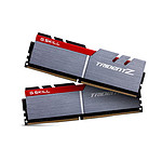 G.Skill Trident Z Silver / Red DDR4 2 x 4 Go 3200 MHz CAS 16