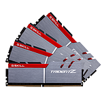 G.Skill Trident Z Silver / Red DDR4 4 x 16 Go 3600 MHz CAS 17
