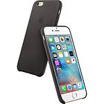 Apple Coque Leather Case iPhone 6s - noir