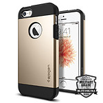 Spigen Coque Tough Armor (or) - iPhone SE
