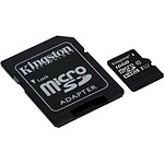 Kingston micro SDHC 16 Go (45Mo/s) + adaptateur SD