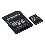 Kingston micro SDXC 64 Go (45 Mo/s) + adaptateur SD