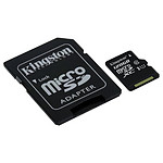 Kingston micro SDXC 128 Go (45 Mo/s) + adaptateur SD