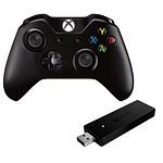 Microsoft Xbox One + Adaptateur sans-fil