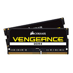 Corsair Vengeance SO-DIMM DDR4 2 x 4 Go 2400 MHz CAS 16