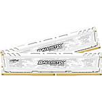Ballistix Sport LT White DDR4 2 x 16 Go 2400 MHz CAS 16 DR
