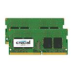 Crucial SO-DIMM DDR4 2 x 8 Go 2133 MHz CAS 15