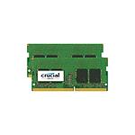 Crucial 16 Go (2 x 8 Go) DDR4 2400 MHz CL17 DR SO-DIMM