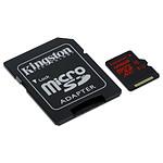 Kingston micro SDXC 128 Go (90 Mo/s) + adaptateur SD