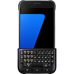 Samsung Coque Keyboard Cover (noir) - Galaxy S7 Edge