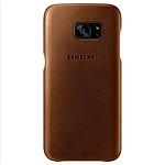 Samsung Coque cuir (marron) - Samsung Galaxy S7 Edge