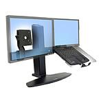 Ergotron Support double portable/écran Neoflex 33-331-085