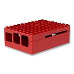 multicomp PI-BLOX - boitier Raspberry Pi 3/2 (ROUGE)