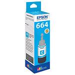 Epson 664 Bouteille d'encre cyan EcoTank C13T664240