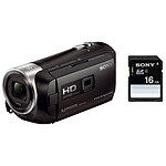 Sony HDR-PJ410 + Carte SD Sony 16 GO
