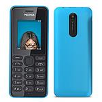 Nokia 108 - double SIM (bleu)