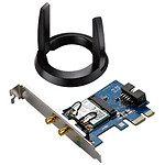 Asus PCE-AC55BT - Carte PCI-E Wifi AC1200 + Bluetooth