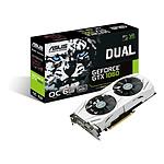 Asus GeForce GTX 1060 Dual OC - 6 Go