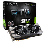 EVGA GeForce GTX 1070 FTW Gaming ACX 3.0 - 8 Go